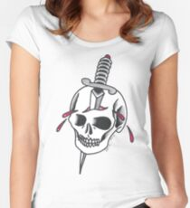 Skull and Dagger Women's Fitted Scoop T-Shirt