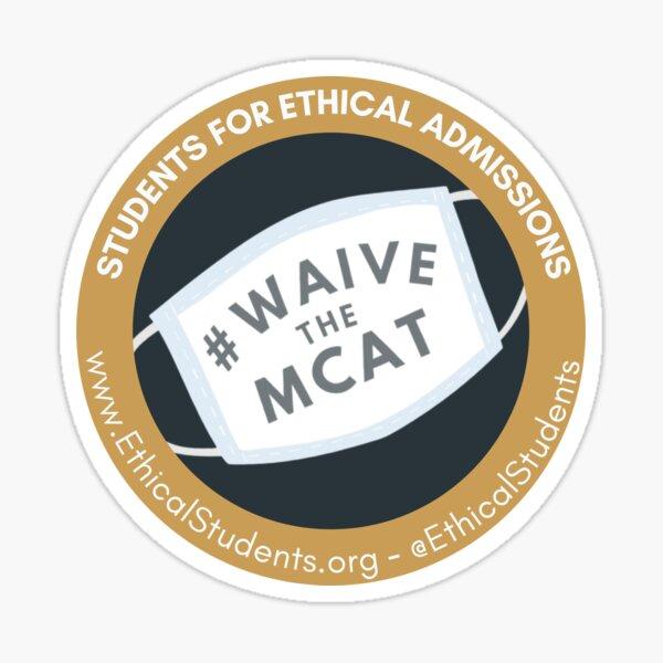 Waive The MCAT SEA Logo Sticker