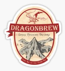 Erebor Dragonbrew Sticker