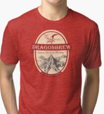 Erebor Dragonbrew Tri-blend T-Shirt
