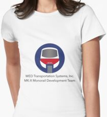 MK-X Monorail Development Team Women's Fitted T-Shirt