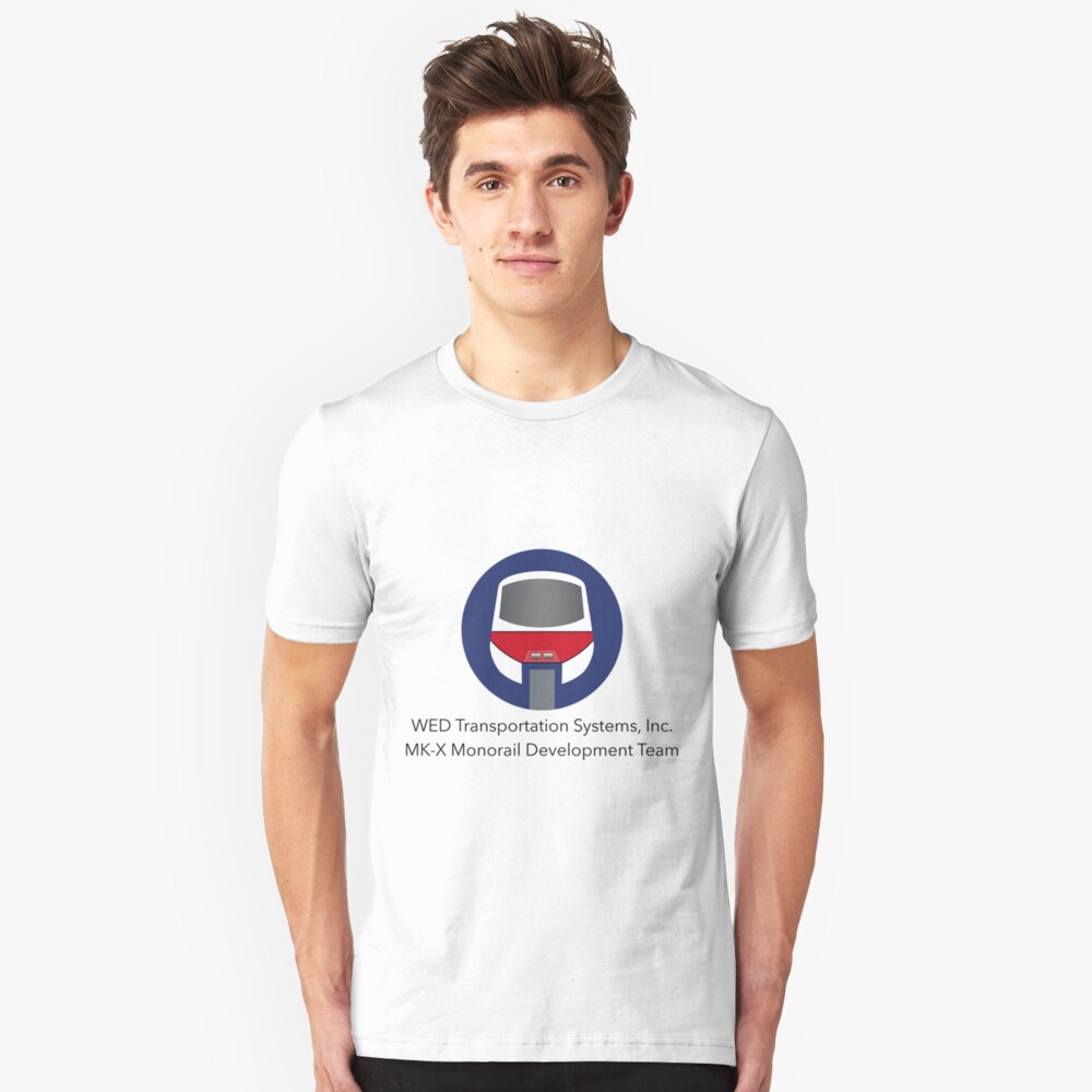 MK-X Monorail Development Team Unisex T-Shirt Front