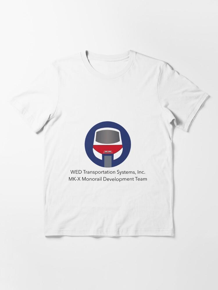 Alternate view of MK-X Monorail Development Team Essential T-Shirt
