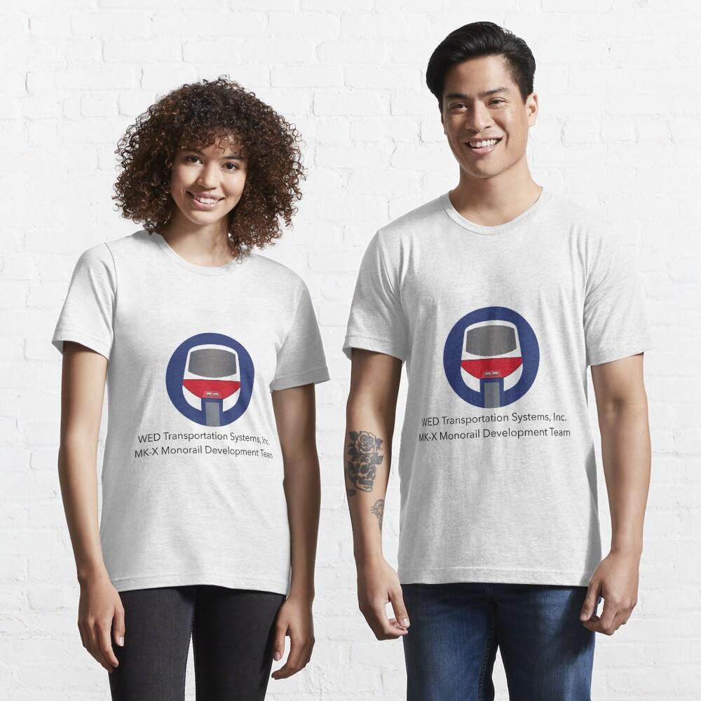MK-X Monorail Development Team Essential T-Shirt