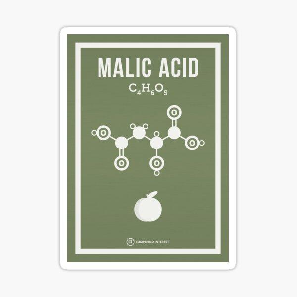 Malic Acid Sticker