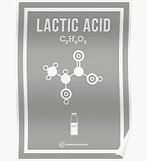 Lactic Acid Poster