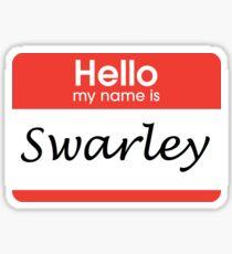 Swarley Sticker