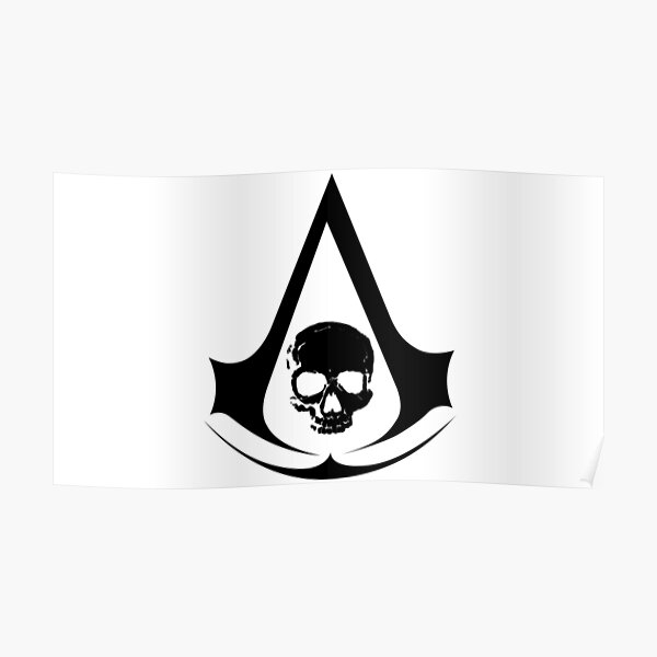 Assassin's Creed Black Flag Póster