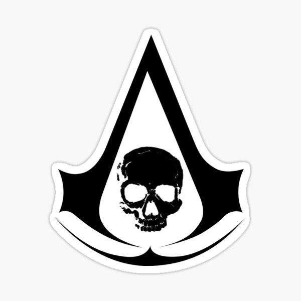 Assassin's Creed Black Flag Pegatina