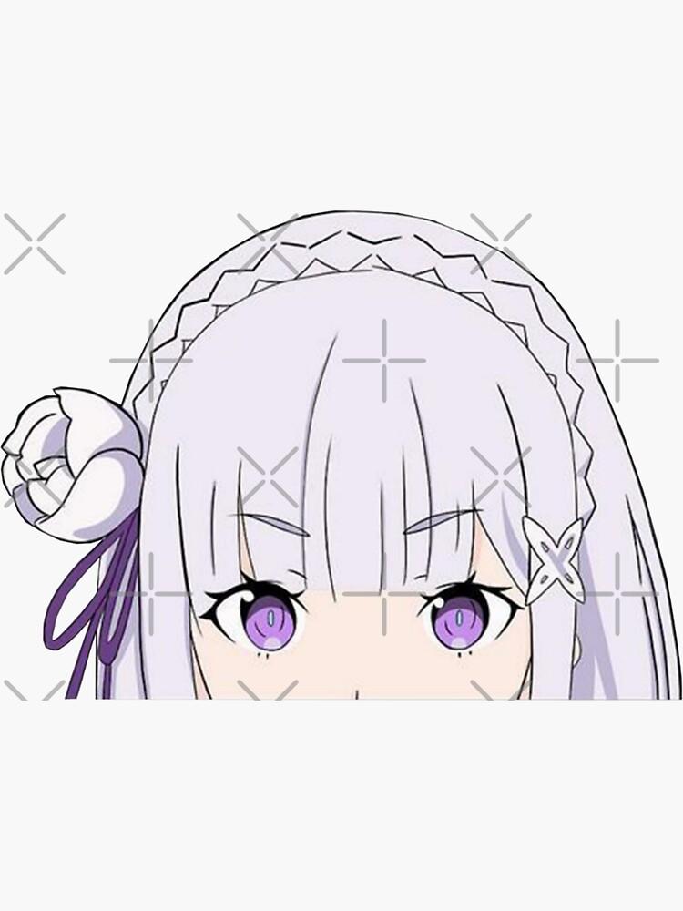 Emilia peeker by Mr-sticker