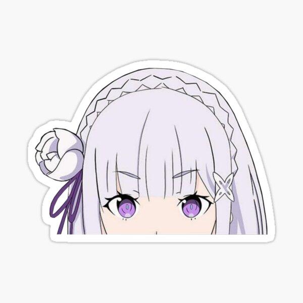 Emilia peeker Sticker