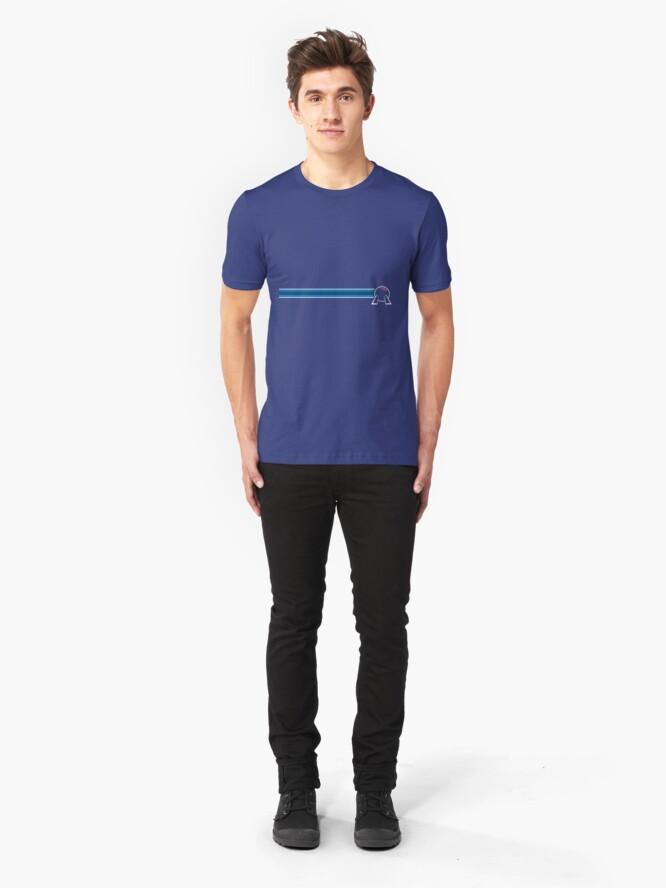 Alternate view of EPCOT Center Spaceship Earth Slim Fit T-Shirt
