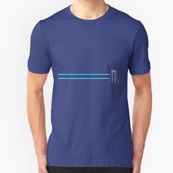 EPCOT Center Fountain Slim Fit T-Shirt