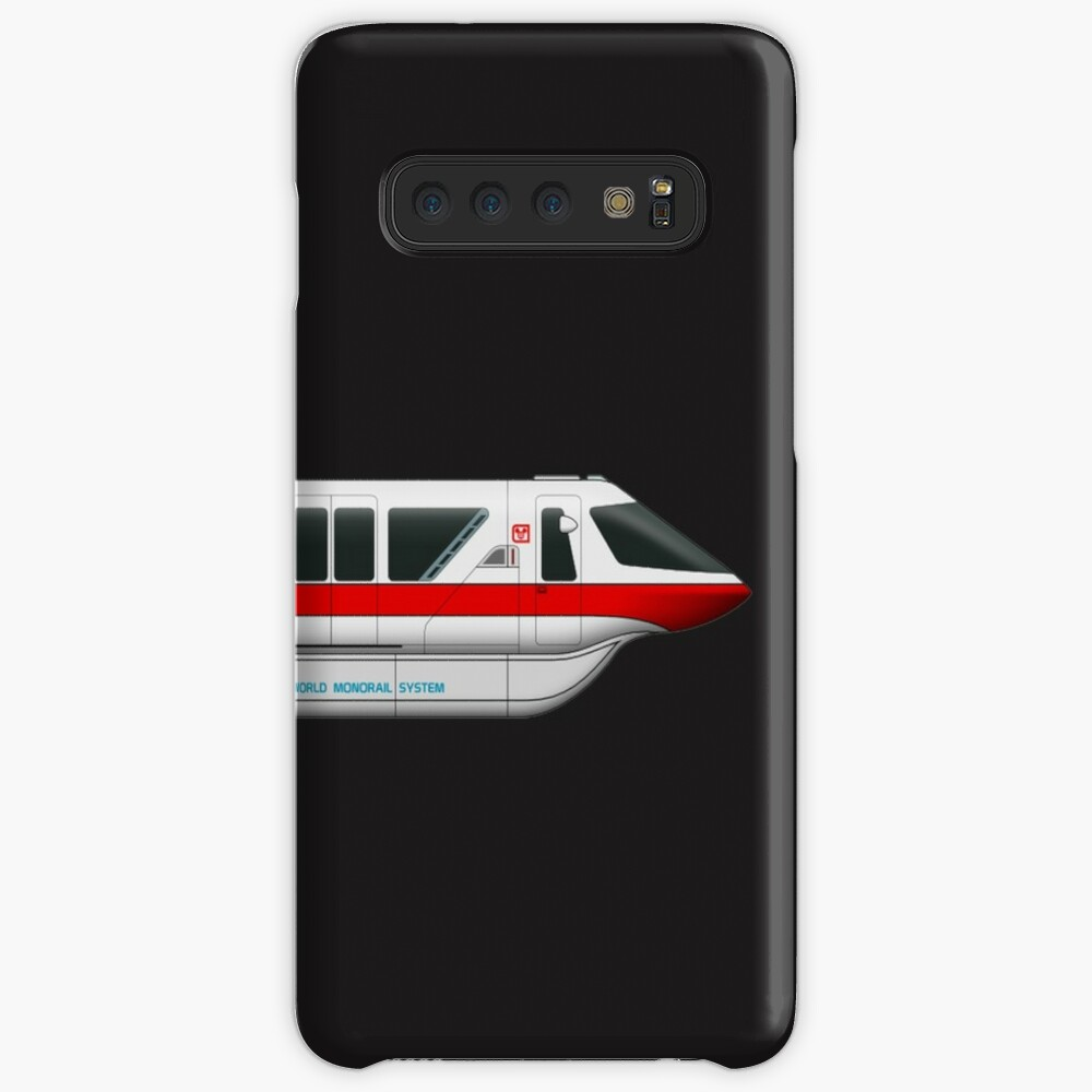 Monorail Red Case & Skin for Samsung Galaxy