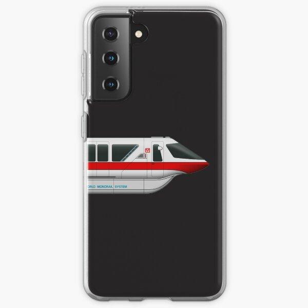 Monorail Red Samsung Galaxy Soft Case