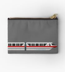 Monorail Red Studio Pouch