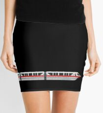 Monorail Red Mini Skirt