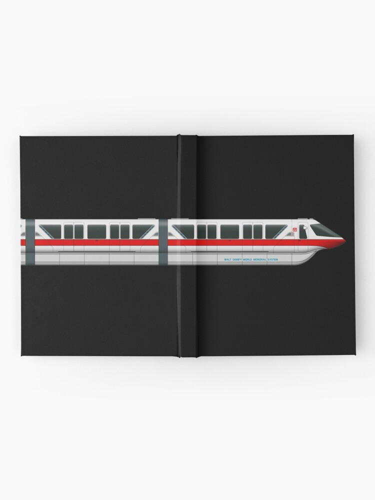 Alternate view of Monorail Red Hardcover Journal