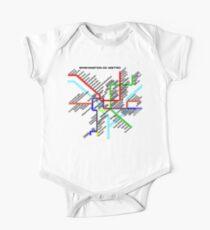Washington DC Metro Map Kids Clothes