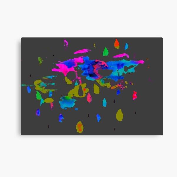 FluoTache Canvas Print