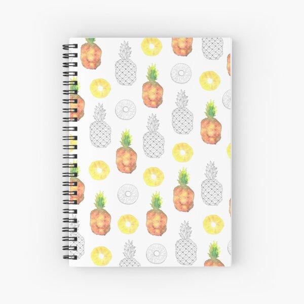 ananas Spiral Notebook