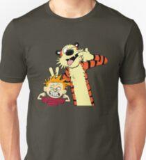 Calvin And Hobbes Fun Art Unisex T-Shirt