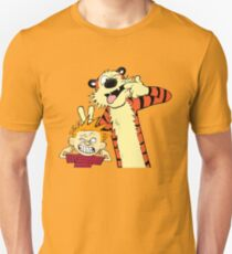 Calvin And Hobbes Fun Art Unisex T-Shirt
