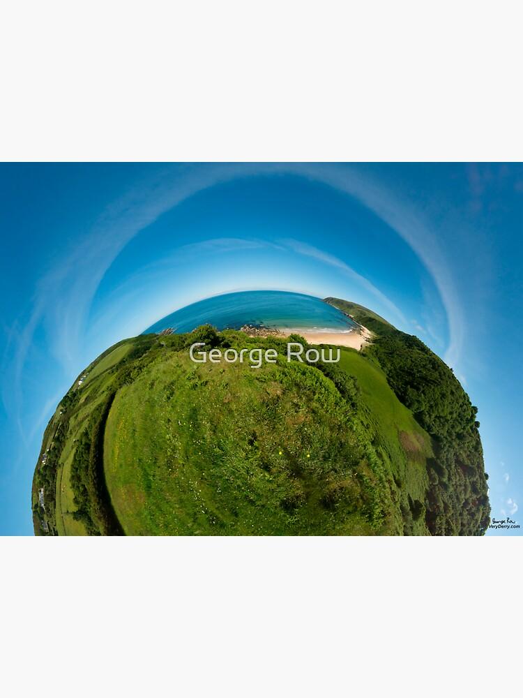Kinnagoe Bay (as half a planet :-) by VeryIreland
