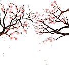 Sakura Trees by shouho