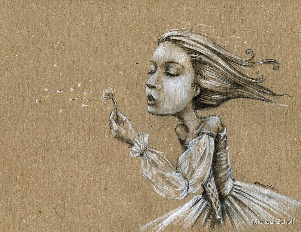 dandelion wishes (LaNanDeSha) by Michael Scholl