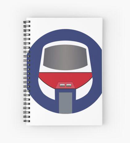 Monorail Logo Spiral Notebook
