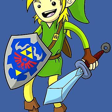 Legend of Zelda Smile by Titenono