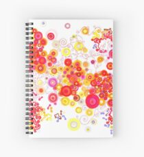 Attractors Spiral Notebook