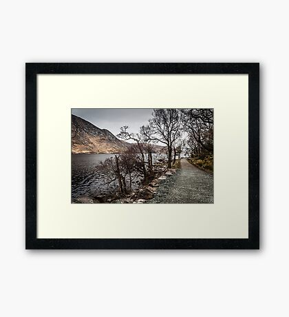 A Walk in Glenveagh National Park Framed Print