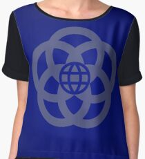 EPCOT Center Retro Logo Chiffon Top
