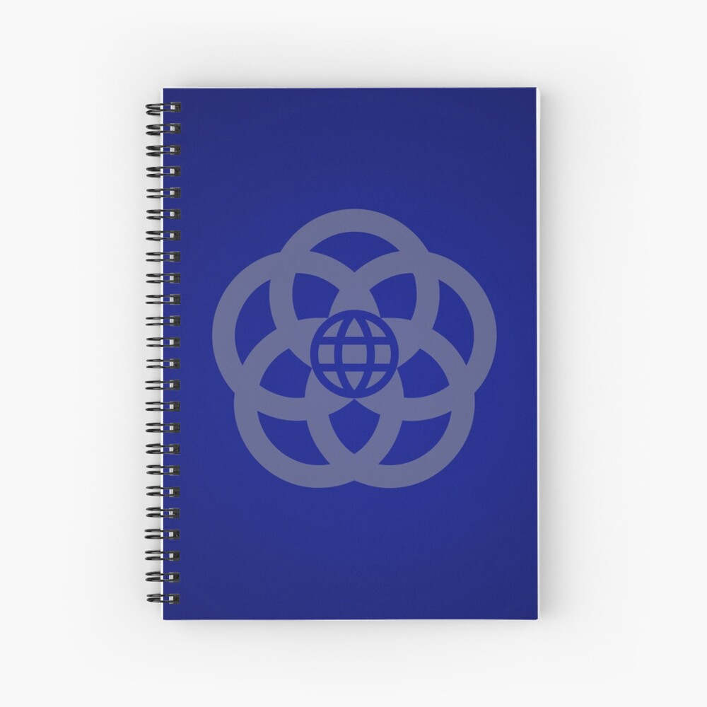 EPCOT Center Retro Logo Spiral Notebook