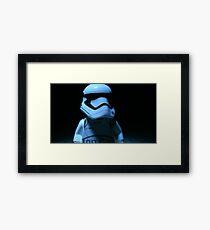 Lego First Order StormTrooper Framed Print