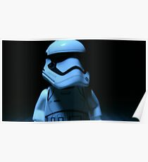 Lego First Order StormTrooper Poster