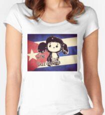 Che Burashka Women's Fitted Scoop T-Shirt