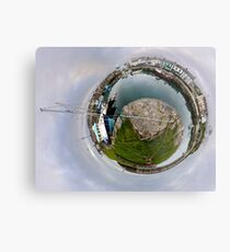 Hurry Head Harbour, Carnlough, County Antrim - Sky out Metal Print