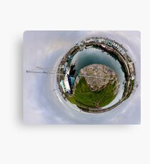 Hurry Head Harbour, Carnlough, County Antrim - Sky out Canvas Print