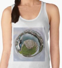 Hurry Head Harbour, Carnlough, County Antrim - Sky out Women's Tank Top