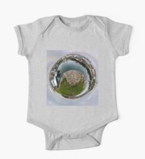 Hurry Head Harbour, Carnlough, County Antrim - Sky out One Piece - Short Sleeve