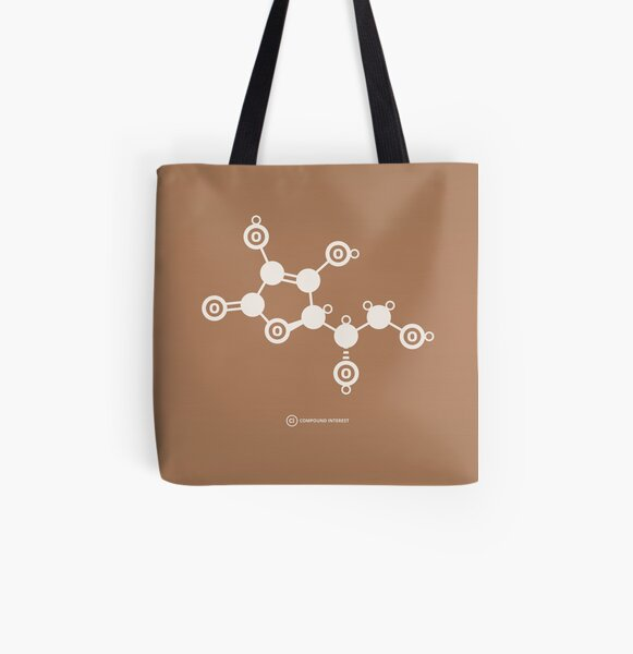 Vitamin C All Over Print Tote Bag