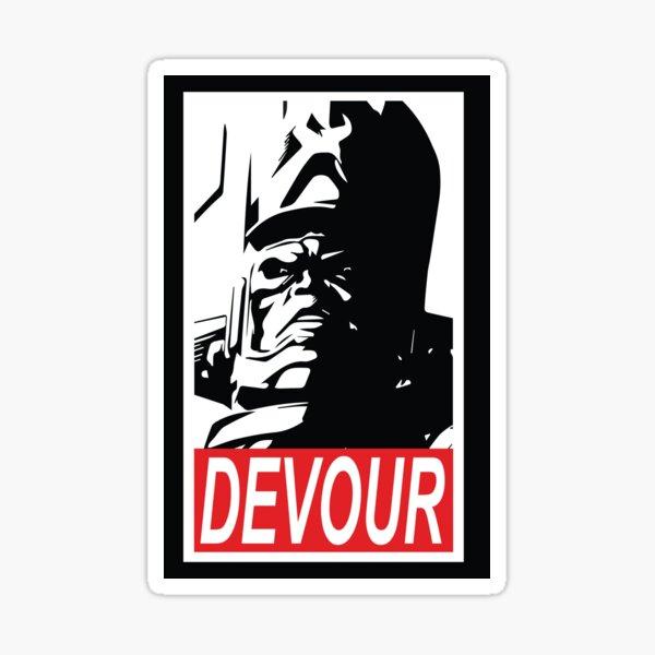 DEVOUR Sticker