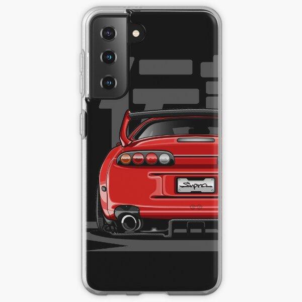 The Legend Supra MK-4 (Red Candy) Samsung Galaxy Soft Case