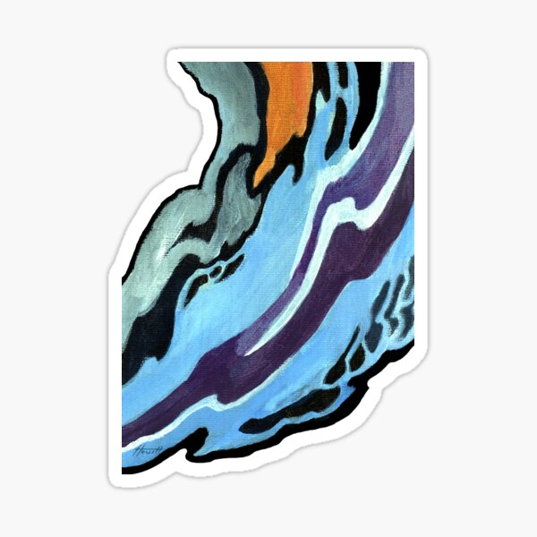 Pattern - To Léon Bakst Sticker