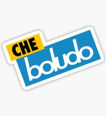 Che Boludo Sticker