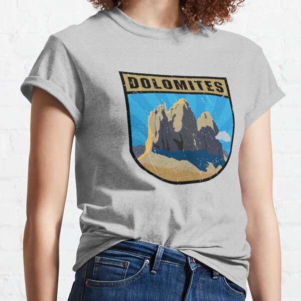 Dolomites Mountains, Italy Classic T-Shirt