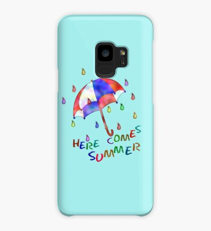 Jolly Brolly Summertime Case/Skin for Samsung Galaxy